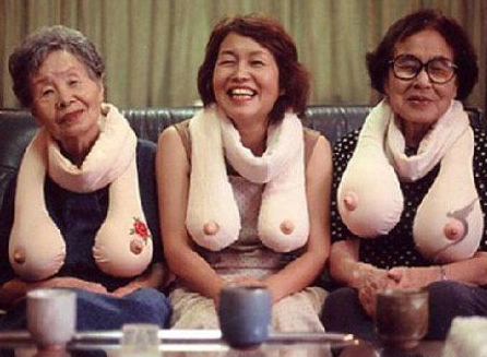 грудь бабушек фото